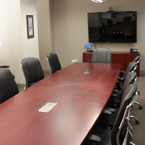 Video conferencing available at Urlaub Bowen & Associates in Chicago, IL. for depositions, interviews, meetings, and more.